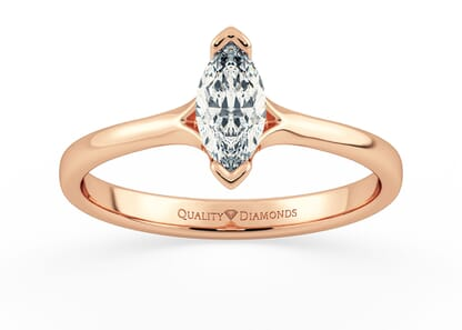 MARQUISE KALILA in 18K ROSE GOLD