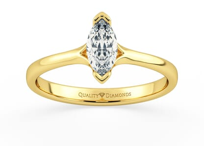 MARQUISE KALILA in 18K YELLOW GOLD