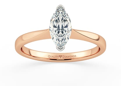 MARQUISE HERA in 18K ROSE GOLD