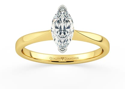 MARQUISE HERA in 18K YELLOW GOLD