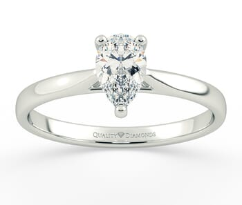 Diamond Engagement Ring in Platinum