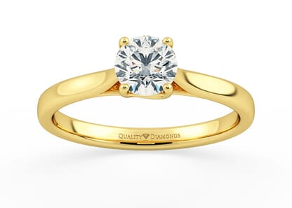 CUORE in 18K YELLOW GOLD