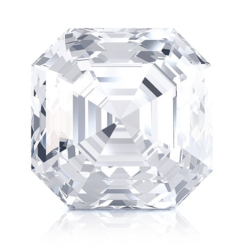 Asscher, 0.20 Carat, E, IF GIA Diamond