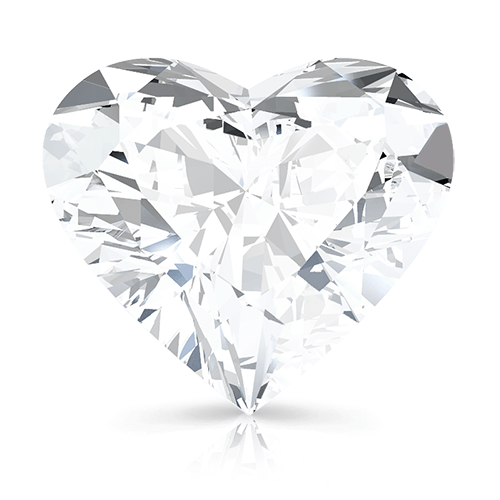 Heart, 0.75 Carat, G, SI1 GIA Diamond