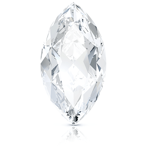 Marquise, 0.60 Carat, H, VS2 GIA Diamond