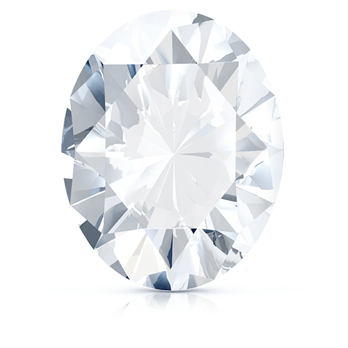 Oval, 0.23 Carat, F, VVS2 GIA Diamond