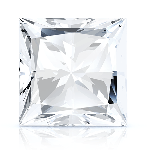 Princess, 1.04 Carat, E, VVS1 GIA Diamond